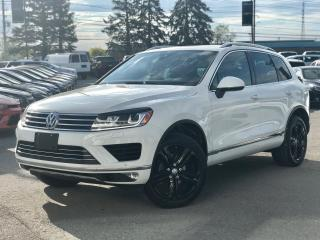 Used 2017 Volkswagen Touareg Wolfsburg Edition Navi|Vented Seats|Pano Roof| for sale in Mississauga, ON