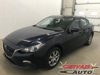 Used 2016 Mazda MAZDA3 for sale in Shawinigan, QC