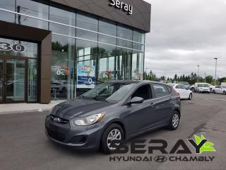Used 2012 Hyundai Accent Gl, A/c, Très Beau for sale in Chambly, QC