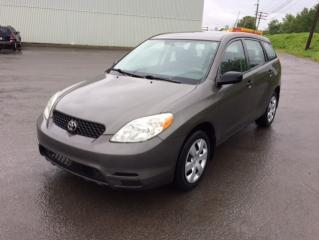 Used 2004 Toyota Matrix Familiale 5 portes, boîte automatique for sale in Quebec, QC