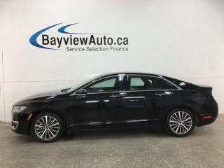 Used 2017 Lincoln MKZ Hybrid Select - HTD LEATHER! SUNROOF! SYNC! NAV! REMOTE START! + MORE! for sale in Belleville, ON