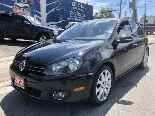 Used 2012 Volkswagen Golf Highline for sale in Toronto, ON