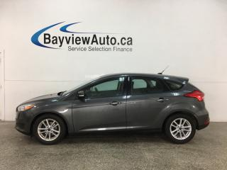 Used 2017 Ford Focus - AUTO! SYNC! REVERSE CAM! A/C! CRUISE! ALLOYS! for sale in Belleville, ON