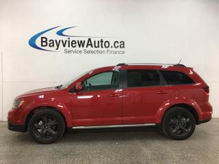 Used 2018 Dodge Journey Crossroad - AWD! HTD LEATHER! NAV! SUNROOF! DVD! for sale in Belleville, ON