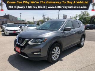 Used 2018 Nissan Rogue SV| AWD| Backup Cam| Heat Seat| Pano Roof for sale in Stoney Creek, ON