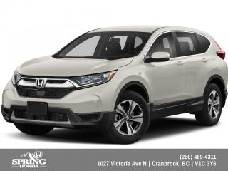 Used 2019 Honda CR-V LX $206 BI-WEEKLY - $0 DOWN for sale in Cranbrook, BC