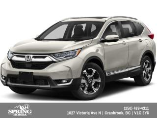 New 2019 Honda CR-V Touring $261 BI-WEEKLY - $0 DOWN for sale in Cranbrook, BC