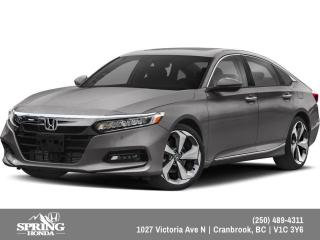 New 2019 Honda Accord Touring 1.5T $241 BI-WEEKLY - $0 DOWN for sale in Cranbrook, BC