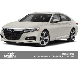 New 2019 Honda Accord Touring 1.5T $243 BI-WEEKLY - $0 DOWN for sale in Cranbrook, BC