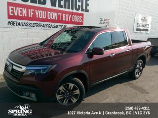 Used 2019 Honda Ridgeline Touring $318 BI-WEEKLY - $0 DOWN for sale in Cranbrook, BC