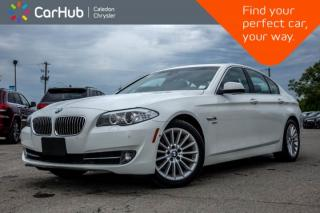 Used 2012 BMW 5 Series 535i xDrive|Navi|Sunroof|Backup Cam|Bluetooth|Leather|Heated front Seats|18