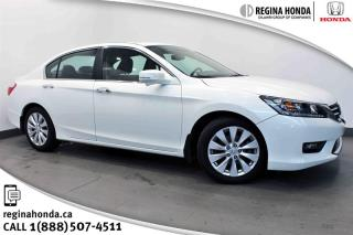 Used 2014 Honda Accord Sedan L4 EX-L CVT LEATHER - ONE OWNER - REMOTE START for sale in Regina, SK