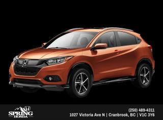 New 2019 Honda HR-V Sport $195 BI-WEEKLY - $0 DOWN for sale in Cranbrook, BC