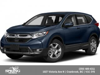 New 2019 Honda CR-V EX-L $248 BI WEEKLY - $0 DOWN for sale in Cranbrook, BC