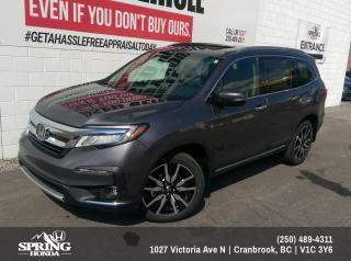 Used 2019 Honda Pilot Touring $346 BI-WEEKLY - $0 DOWN for sale in Cranbrook, BC