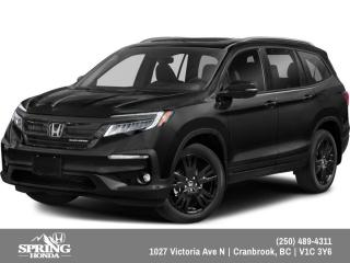 New 2019 Honda Pilot Black Edition $355 BI-WEEKLY - $0 DOWN for sale in Cranbrook, BC