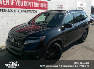 Used 2019 Honda Pilot Black Edition $355 BI-WEEKLY - $0 DOWN for sale in Cranbrook, BC