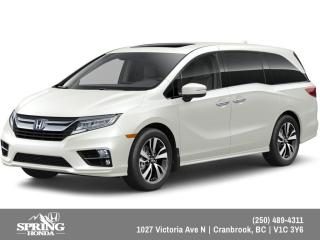 New 2019 Honda Odyssey Touring $336 BI-WEEKLY - $0 DOWN for sale in Cranbrook, BC
