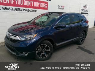 Used 2019 Honda CR-V Touring $259 BI-WEEKLY - $0 DOWN for sale in Cranbrook, BC