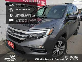 Used 2016 Honda Pilot EX-L Navi NO ACCIDENTS //  EXTENDED WARRANTY // NEW WINDSHIELD - $202 BI-WEEKLY - $0 DOWN for sale in Cranbrook, BC