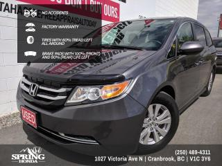 Used 2016 Honda Odyssey EX NO ACCIDENTS, ONE OWNER, LOCAL TRADE, WELL MAINTAINED, FACTORY WARRANTY - $184 BI-WEEKLY - $0 DOWN for sale in Cranbrook, BC