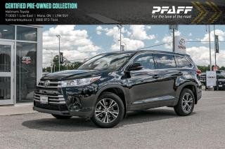 Used 2017 Toyota Highlander LE FWD for sale in Orangeville, ON
