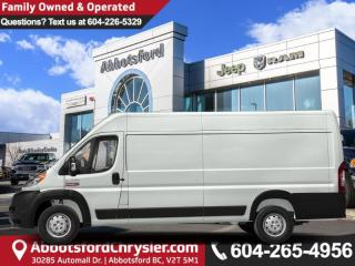 New 2019 RAM 3500 ProMaster High Roof for sale in Abbotsford, BC