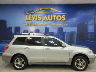 Used 2006 Mitsubishi Outlander LS AWD AUTOMATIQUE FULL ÉQUIPE BAS PRIX for sale in Lévis, QC