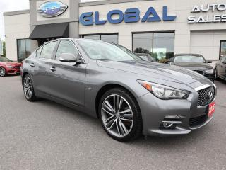 Used 2015 Infiniti Q50 AWD LIMITED LEATHER NAVIGATION SUNROOF. for sale in Ottawa, ON