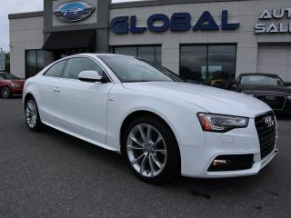 Used 2015 Audi A5 2.0T Komfort quattro 6 SPEED MANUAL. for sale in Ottawa, ON