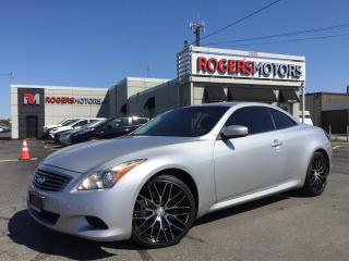 Used 2009 Infiniti G37 SPORT - CONV. - NAVI - REVERSE CAM for sale in Oakville, ON