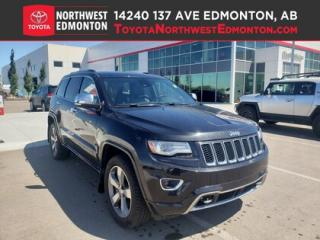 Used 2014 Jeep Grand Cherokee Overland | 4x4 | V8 | Nav | Backup Cam | Heat Seat for sale in Edmonton, AB