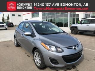 Used 2014 Mazda MAZDA2 GX | FWD | 5 Passenger | Pwr Windows | USB+Auxilia for sale in Edmonton, AB