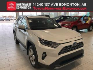 New 2019 Toyota RAV4 Hybrid Limited for sale in Edmonton, AB