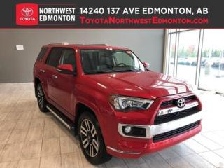 New 2019 Toyota 4Runner Limited 7-Passenger V6 for sale in Edmonton, AB
