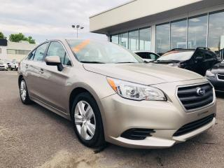 Used 2016 Subaru Legacy 2.5i w/PZEV for sale in Lévis, QC