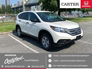 Used 2014 Honda CR-V LX for sale in Vancouver, BC