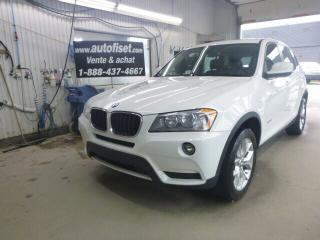 Used 2013 BMW X3 xDrive28i for sale in St-Raymond, QC
