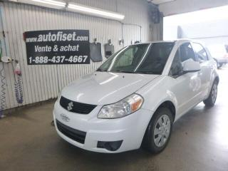 Used 2010 Suzuki SX4 for sale in St-Raymond, QC