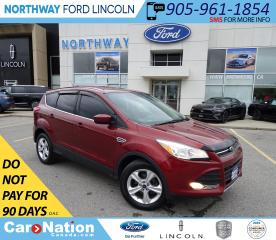 Used 2016 Ford Escape SE | KEYLESS ENTRY | BACK UP CAM | BLUETOOTH | for sale in Brantford, ON