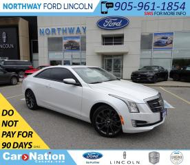 Used 2016 Cadillac ATS Luxury | AWD | NAV | HTD LEATHER | SUNROOF | TURBO for sale in Brantford, ON