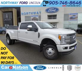 Used 2017 Ford F-350 Platinum |DUALLY | LEATHER | PANOROOF |DIESEL for sale in Brantford, ON