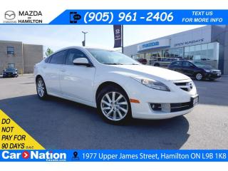 Used 2013 Mazda MAZDA6 GT-I4 GT | LEATHER | SUNROOF | HEATED SEATS | BLUETOOTH for sale in Hamilton, ON