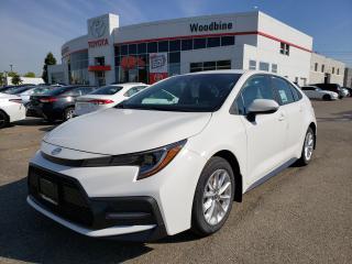 New 2020 Toyota Corolla SE 6-speed manual transmission for sale in Etobicoke, ON