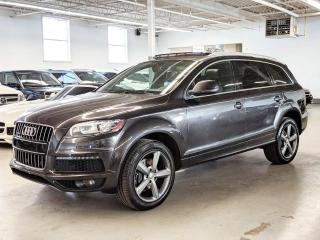 Used 2015 Audi Q7 Vorsprung Edition/360 CAMERA/REAR SHADES/VENTILATED SEATS! for sale in Toronto, ON