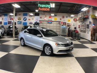 Used 2015 Volkswagen Jetta Sedan 2.0L TRENDLINE  AUT0 A/C SUNROOF REAR CAMERA 53K for sale in North York, ON