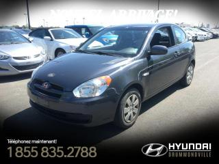Used 2010 Hyundai Accent GL + 118 169 KM + A/C + CRUISE + GR. ÉLÉ for sale in Drummondville, QC