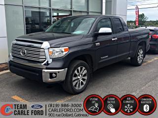 Used 2017 Toyota Tundra Toyota Tundra Limited 2017, GPS, BLUETOO for sale in Gatineau, QC
