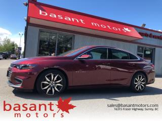 Used 2016 Chevrolet Malibu LT for sale in Surrey, BC