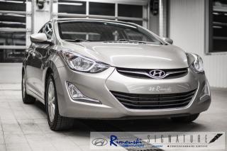 Used 2014 Hyundai Elantra GLS chez Rimouski Hyundai for sale in Rimouski, QC
